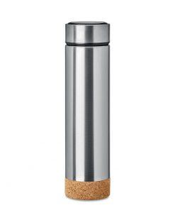 Сребро Мат Термос POLE CORK 450 ml