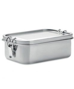 Сребро Мат Метална кутия за храна CHAN