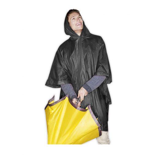 Черен Сгъваем дъждобран REGAL