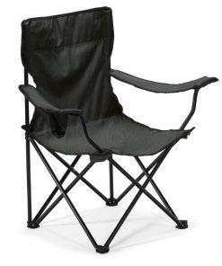 Черен Къмпинг стол EASYGO