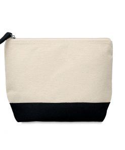Черна Двуцветна козметична чанта KLEUREN 220 ml