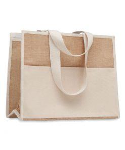 Бежова Чанта за пазаруване CAMPO DE GELI 2.2 L