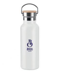 Прозрачно Бял Термос от неръждаема стомана HELSINKI 500 ml