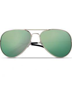 Лайм Слънчеви очила в комплект с микрофибърен калъф MALIBU