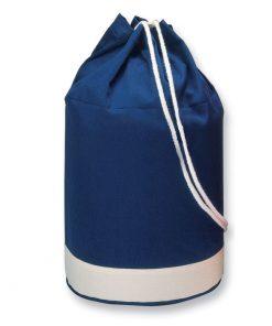 Синя Двуцветна памучна мешка YATCH 640 ml