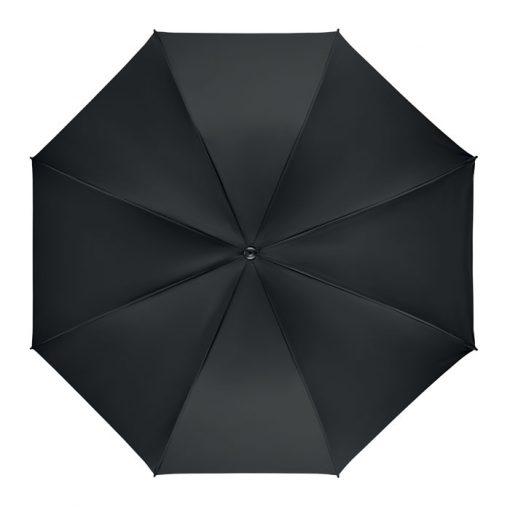 Черен Ветроустойчив чадър за дъжд GRUSA