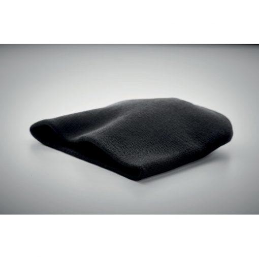 Черна Модерна зимна шапка MARCO RPET