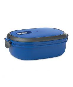 Кралско Синя Кутия за храна с херметически капак LUX LUNCH