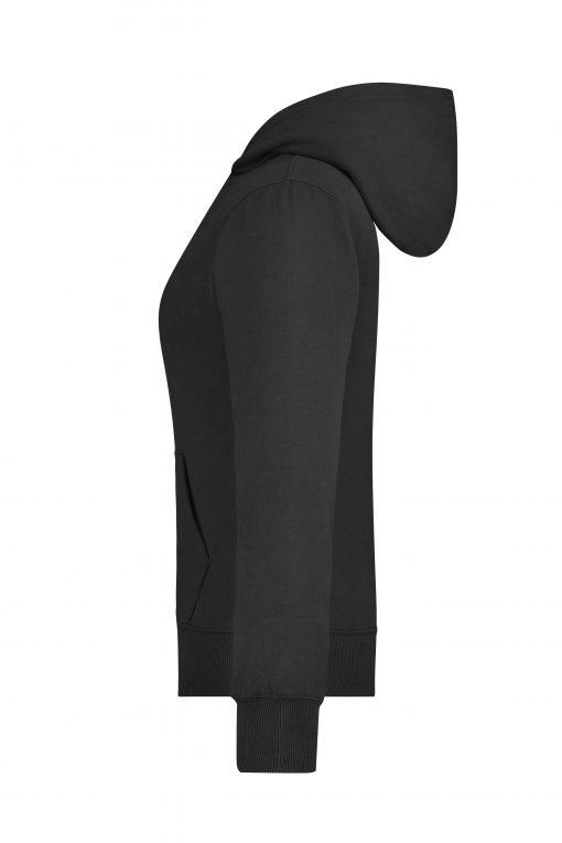Дамски суичър - цвят Черен