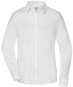 Дамска риза Easy-Care Elastic  - цвят Бяло