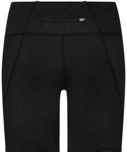 Дамски спортни къси панталони - цвят Черен