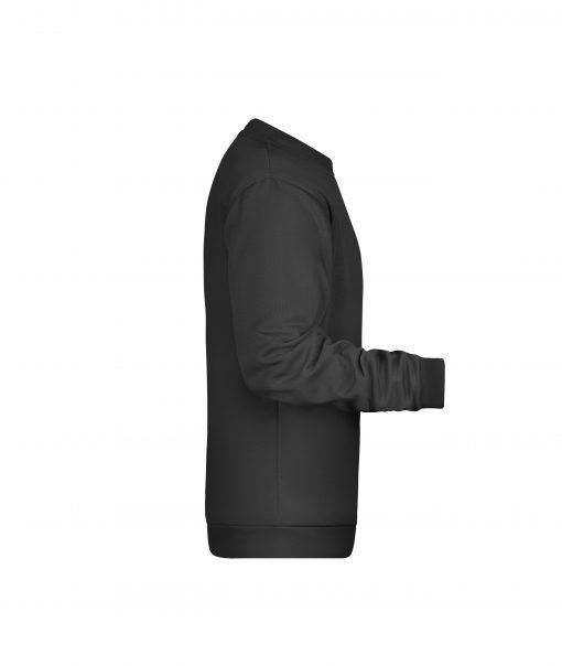 Мъжки пуловер - цвят Черен