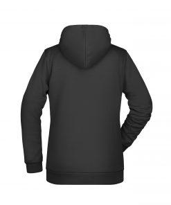 Дамски суичър Basic - цвят Черен