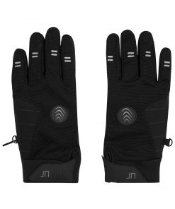 Зимни ръкавици за колоездене - цвят Черен
