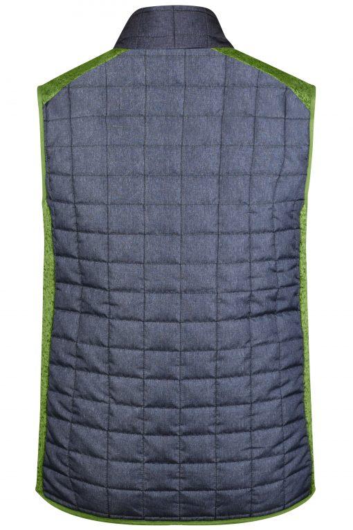 Мъжки спортен елек - цвят Киви Меланж/Антрацит Меланж
