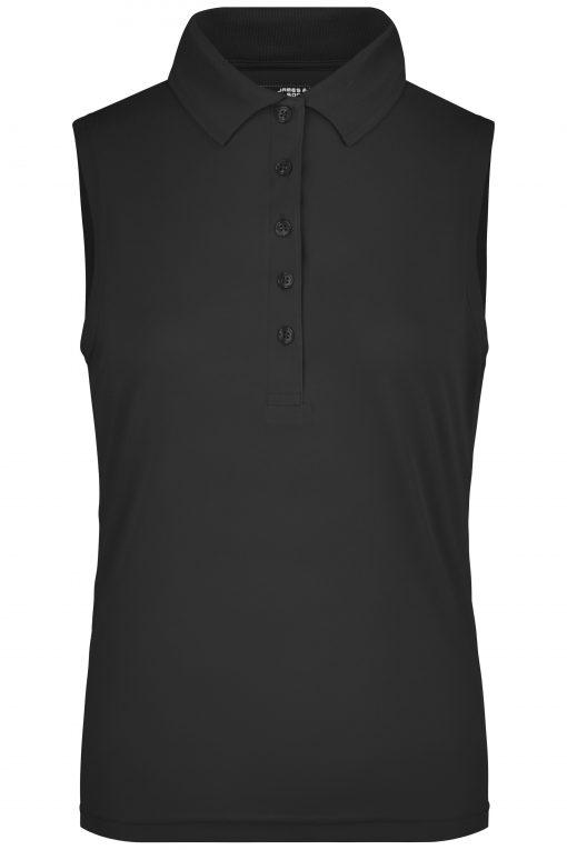 Дамска тениска без ръкави - цвят Черен