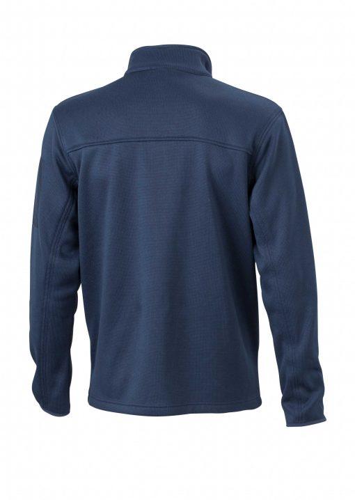Мъжко поларено яке - цвят Морско Син