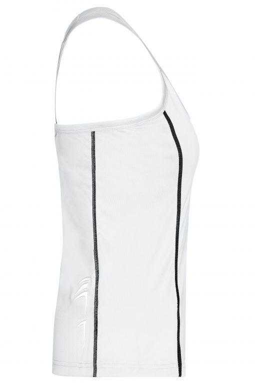 Дамски спортен потник - цвят Бял/Черен