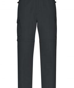 Мъжки трекинг панталон - цвят Черен