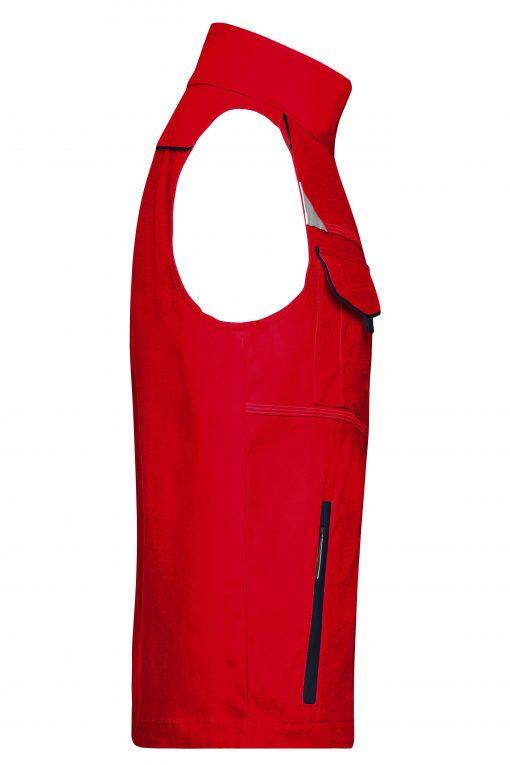 Работен елек - цвят Червено/Флота