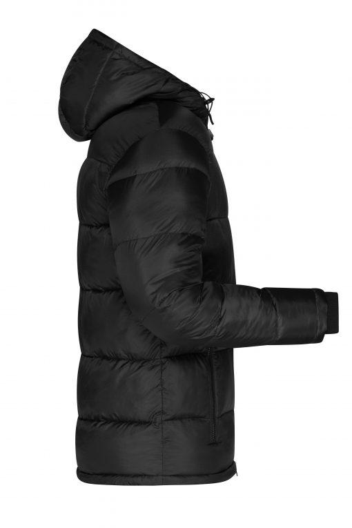 Мъжко зимно яке Sorona® - цвят Черно/Червено