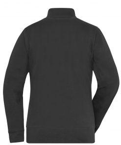 Дамско двулицево яке - цвят Черен
