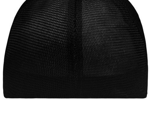 Дишаща шапка с козирка - цвят Червено/Черно