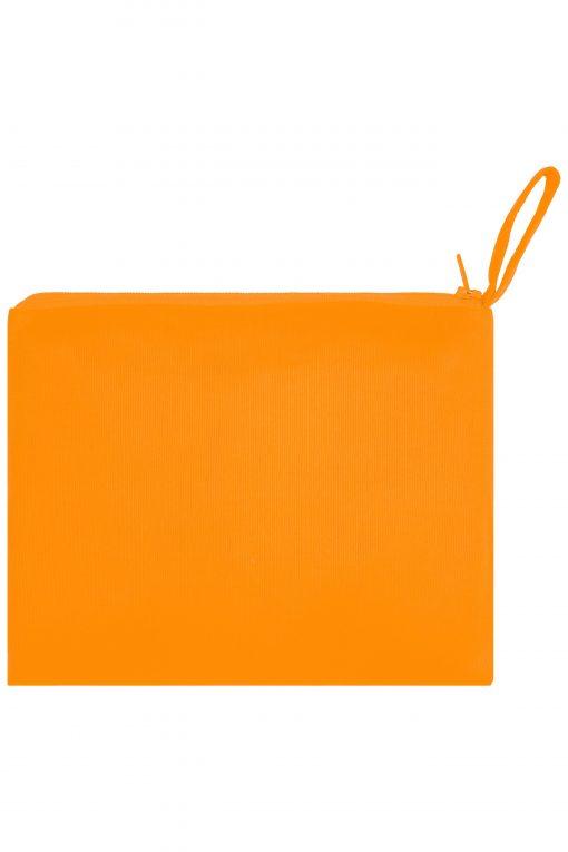 Детска светлоотразителна жилетка - цвят Флуоресцентно-Оранжев