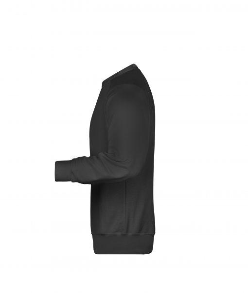 Мъжка блуза с изчистен дизайн - цвят Черен