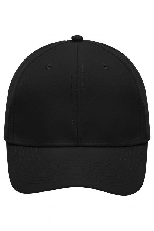 Микрофибърна шапка с козирка - цвят Черен