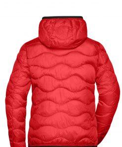 Дамско ватирано яке Sorona® - цвят Червено/Черно