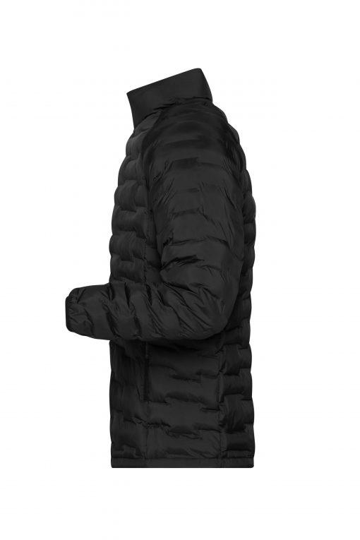 Мъжко ватирано яке Sorona® - цвят Черно-Матов