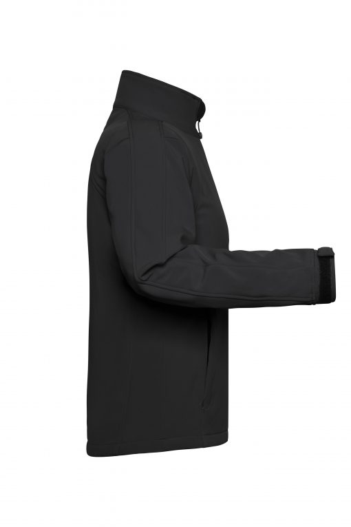 Дамско софтшел яке - цвят Черен