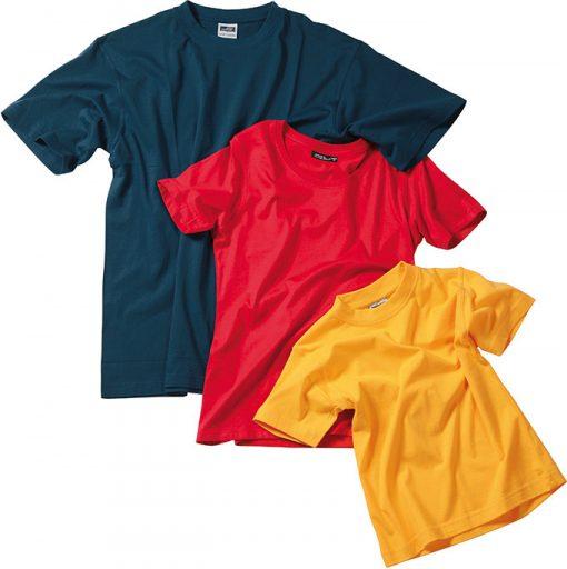 Детска спортна тениска - цвят Черен