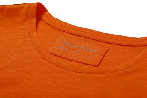 Мъжка тениска Slub - цвят Морскосиньо