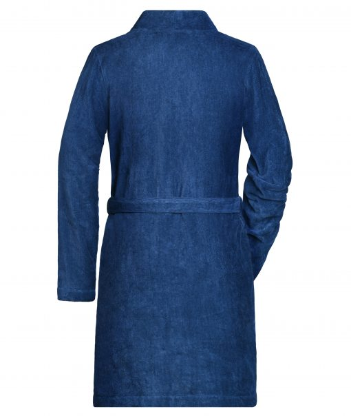 Дамски халат - цвят Морскосиньо