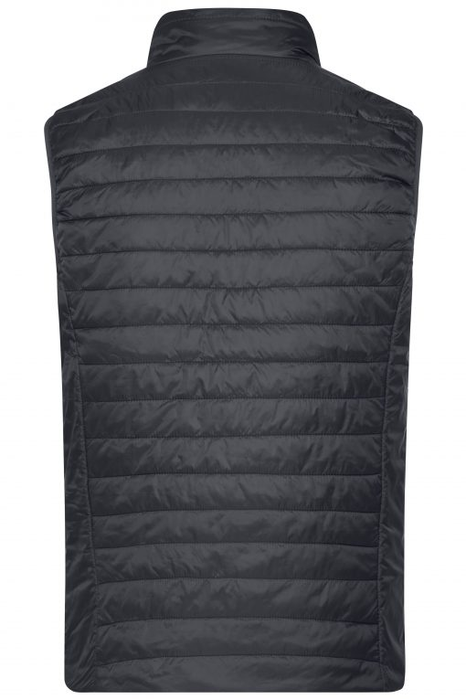 Мъжки шушляков елек Sorona - цвят Черно/Сребро
