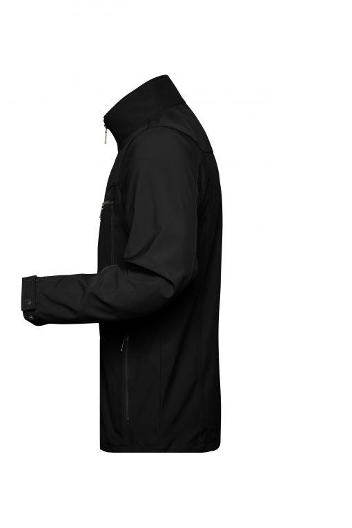 Мъжко софтшел яке Tailor - цвят Черен