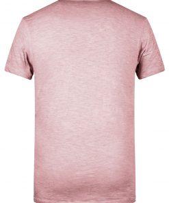Мъжка ежедневна тениска - цвят Розов