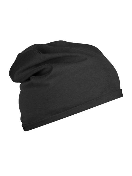 Шапка от органичен памук Beanie - цвят Черен