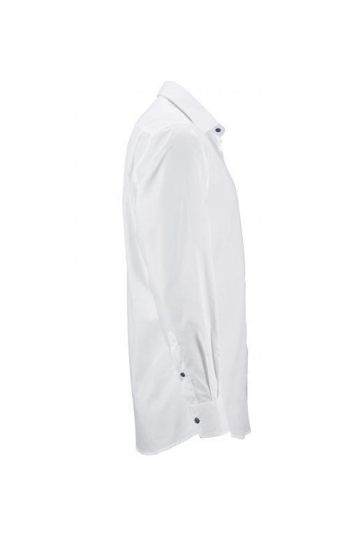 Мъжка риза с Easy-Care покритие - цвят Бяло/Синьо-Бяло