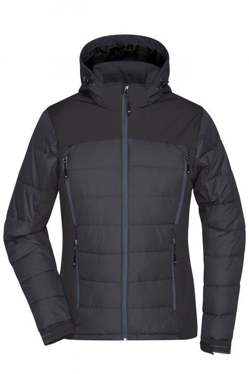 Дамско термо яке - цвят Черен