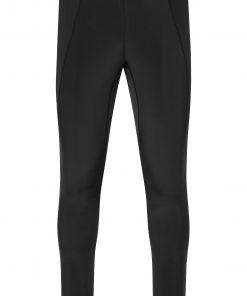 Мъжки зимен панталон - цвят Черен