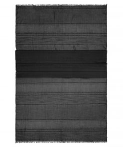 Летен шал - цвят Черен