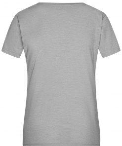 Дамска тениска Melange - цвят Избелено Сиво