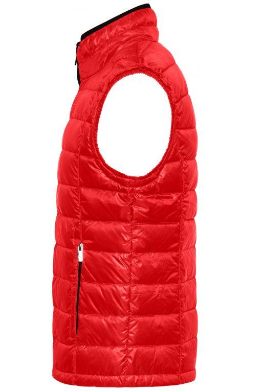 Мъжки шушляков елек - цвят Червено/Черно
