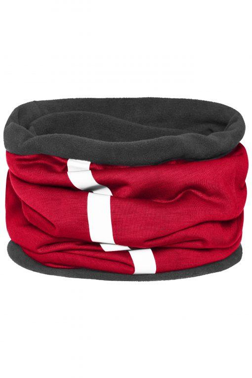 Спортен шал за глава, лице и шия - цвят Червен/Индиго