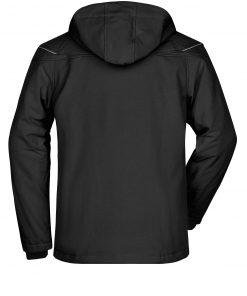 Мъжко софтшел яке - цвят Черен