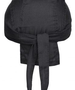 Бандата за глава тип шапка - цвят Черен