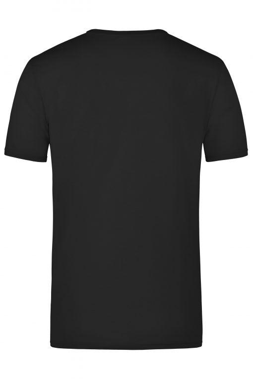 Мъжка тениска - цвят Черен